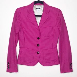 J. Crew Robert Noble wool blazer pink